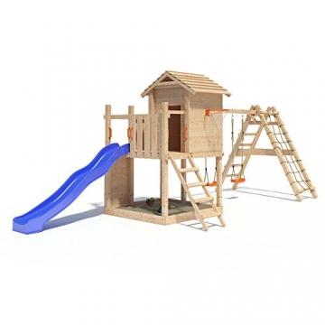 Gigantico Spielturm Kletterturm Baumhaus Rutsche Schaukeln (erweiterter Schaukelanbau) -