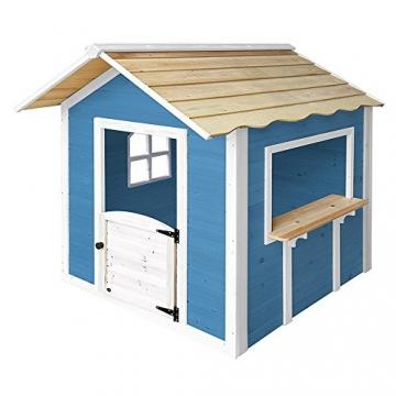 Home Deluxe - Spielhaus - Der große Palast blau - ohne Bank - inkl. komplettem Zubehör - 2
