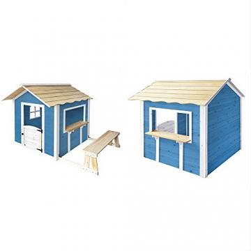 Home Deluxe - Spielhaus - Der große Palast blau - ohne Bank - inkl. komplettem Zubehör - 1