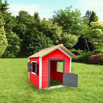 Home Deluxe - umweltfreundliches Spielhaus für Kinder - Das kleine Schloss - 101 x 106 x 128 cm - Inkl. komplettem Montagematerial - 2