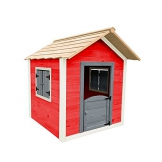 Home Deluxe - umweltfreundliches Spielhaus für Kinder - Das kleine Schloss - 101 x 106 x 128 cm - Inkl. komplettem Montagematerial - 1