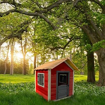 Home Deluxe - umweltfreundliches Spielhaus für Kinder - Das kleine Schloss - 101 x 106 x 128 cm - Inkl. komplettem Montagematerial - 3