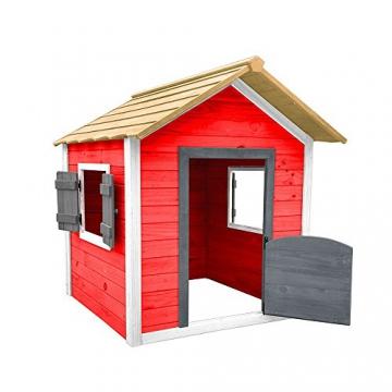Home Deluxe - umweltfreundliches Spielhaus für Kinder - Das kleine Schloss - 101 x 106 x 128 cm - Inkl. komplettem Montagematerial - 4