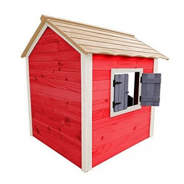 Home Deluxe - umweltfreundliches Spielhaus für Kinder - Das kleine Schloss - 101 x 106 x 128 cm - Inkl. komplettem Montagematerial - 5