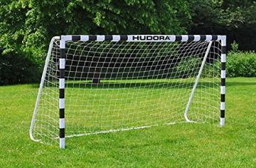 Hudora 76903 Fußballtor Stadion mit echten 200 cm Höhe - 2