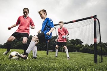 HUDORA 76915,Fußballtor Pro Tect Fußball Tor für Kinder und Erwachsene, Mehrfarbig, 180x120 cm - 2