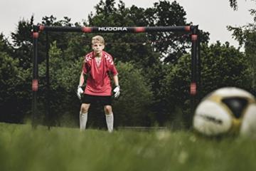 HUDORA 76915,Fußballtor Pro Tect Fußball Tor für Kinder und Erwachsene, Mehrfarbig, 180x120 cm - 3