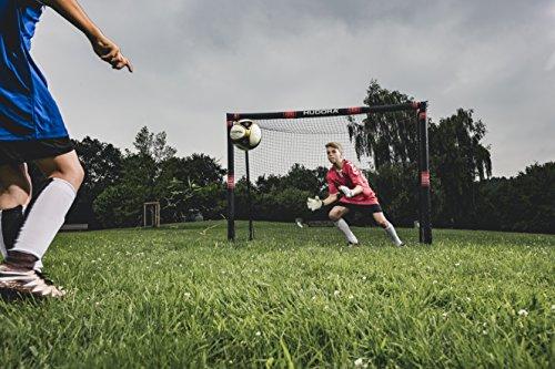 HUDORA 76915,Fußballtor Pro Tect Fußball Tor für Kinder und Erwachsene, Mehrfarbig, 180x120 cm - 4