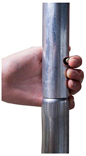 HUDORA Fantastic Trampolin 300 cm - Gartentrampolin mit Sicherheitsnetz - 65730 - 7
