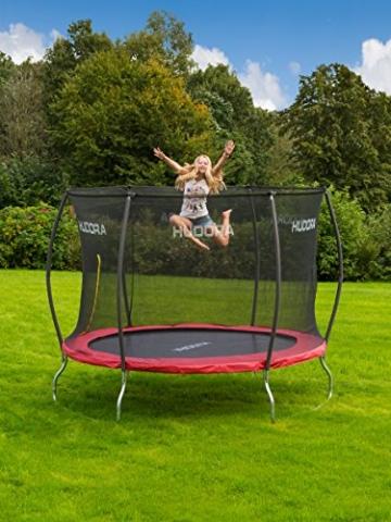 HUDORA Fantastic Trampolin 300 cm - Gartentrampolin mit Sicherheitsnetz - 65730 - 8