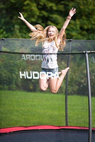 HUDORA Fantastic Trampolin 300 cm - Gartentrampolin mit Sicherheitsnetz - 65730 - 9