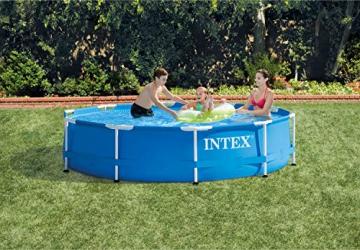 Intex 28202GN Metal Frame Pool - Aufstellpool -  Ø 305 x 76 cm - 2