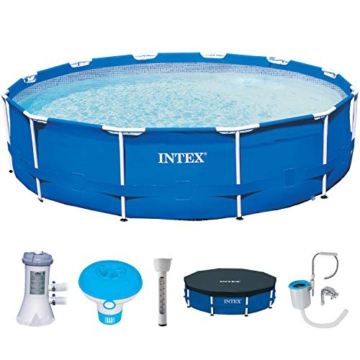 Intex 28214 Frame Pool 366x84 Komplettset - 1