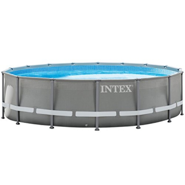 Intex 28924GH Frame Pool Set Ultra Rondo, Ø 488 x 132 cm - 1