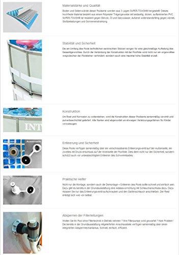 Intex 28924GH Frame Pool Set Ultra Rondo, Ø 488 x 132 cm - 2