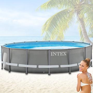 Intex 28924GH Frame Pool Set Ultra Rondo, Ø 488 x 132 cm - 3