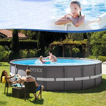Intex 28924GH Frame Pool Set Ultra Rondo, Ø 488 x 132 cm - 5