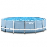 Intex 366x122 cm Schwimmbecken Swimming Pool Schwimmbad Frame Metal 28904 -