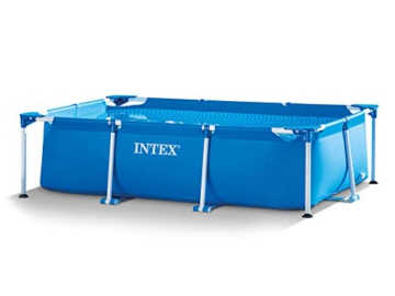 Intex 3in1 Set Gartenpool 260 x 160 x 65cm Pool mit Filterpumpe - 1