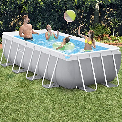 Intex 4M X 2M X 1M Prism Frame Rectangular Pool Set - 2