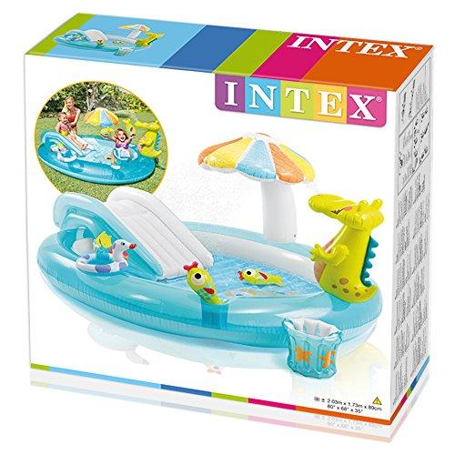 Intex 57129NP - Bad Spielzentrum Krokodil -