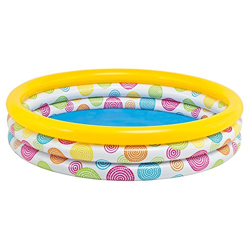 Intex 58439NP - 3-Ring-Pool - Wild Geometry, Durchmesser 147 x 33 cm -