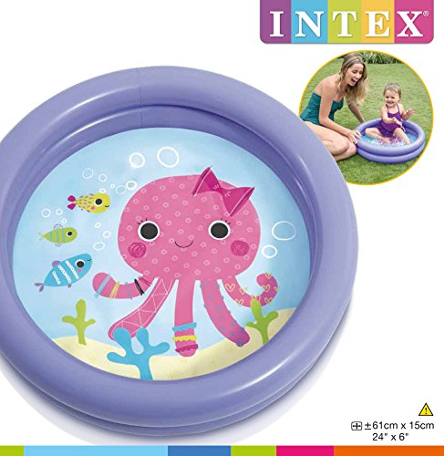 Intex 59409NP - My First Pool, 2-Ring, farblich sortiert - 13