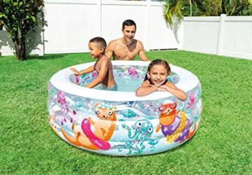 Intex Aquarium Pool - Kinder Aufstellpool - Planschbecken - Ø 152 x 56 cm - Für 6+ Jahre - 2