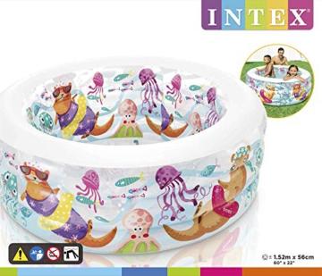 Intex Aquarium Pool - Kinder Aufstellpool - Planschbecken - Ø 152 x 56 cm - Für 6+ Jahre - 3