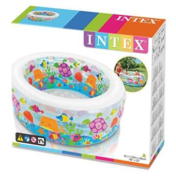 Intex Aquarium Pool - Kinder Aufstellpool - Planschbecken - Ø 152 x 56 cm - Für 6+ Jahre - 8