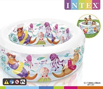 Intex Aquarium Pool - Kinder Aufstellpool - Planschbecken - Ø 152 x 56 cm - Für 6+ Jahre - 9