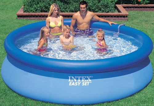 Intex Aufstellpool Easy Set Pools®, Blau, Ø 366 x 91 cm -