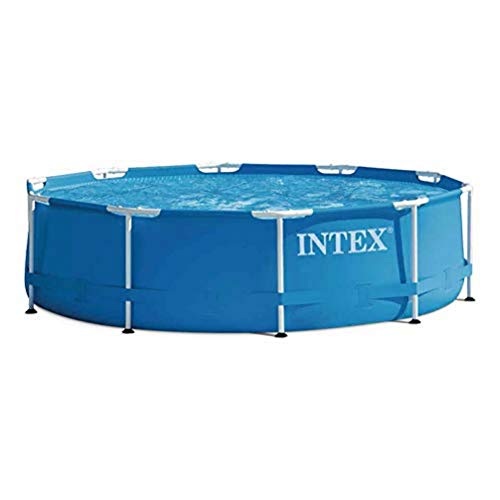 Intex Aufstellpool Frame Pool Set Rondo, Blau, Ø 305 x 76cm - 1