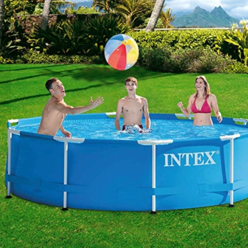 Intex Aufstellpool Frame Pool Set Rondo, Blau, Ø 305 x 76cm - 2
