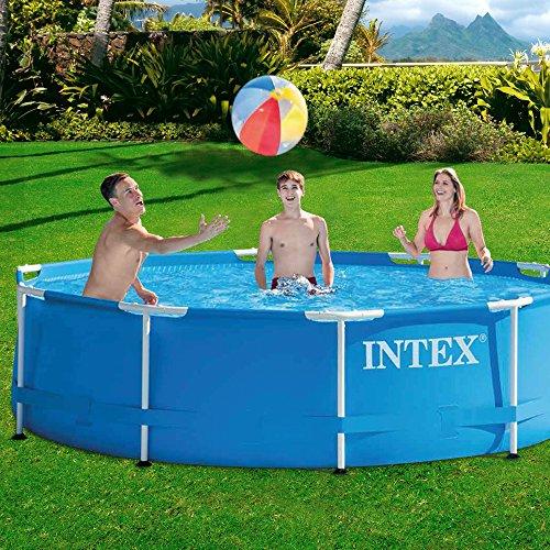 Intex Aufstellpool Frame Pool Set Rondo, Blau, Ø 305 x 76cm - 2