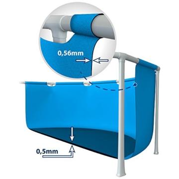 Intex Aufstellpool Frame Pool Set Rondo, Blau, Ø 305 x 76cm - 4