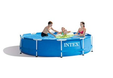 Intex Aufstellpool Frame Pool Set Rondo, Blau, Ø 305 x 76cm - 5
