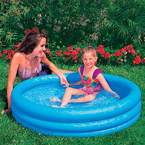 Intex Crystal Blue Pool - Kinder Aufstellpool - Planschbecken - Ø 114 cm x 25 cm - Für 2+ Jahre - 2