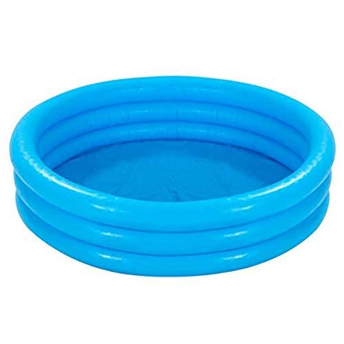 Intex Crystal Blue Pool - Kinder Aufstellpool - Planschbecken - Ø 114 cm x 25 cm - Für 2+ Jahre - 1