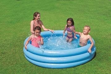 Intex Crystal Blue Pool - Kinder Aufstellpool - Planschbecken - Ø 168 cm x 38 cm - Für 2+ Jahre - 2