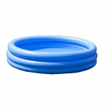 Intex Crystal Blue Pool - Kinder Aufstellpool - Planschbecken - Ø 168 cm x 38 cm - Für 2+ Jahre - 1