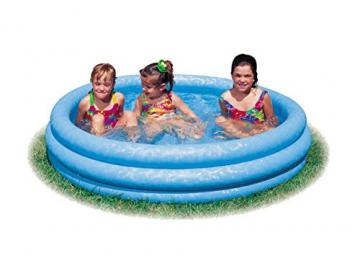 Intex Crystal Blue Pool - Kinder Aufstellpool - Planschbecken - Ø 168 cm x 38 cm - Für 2+ Jahre - 3