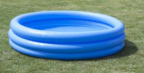 Intex Crystal Blue Pool - Kinder Aufstellpool - Planschbecken - Ø 168 cm x 38 cm - Für 2+ Jahre - 4