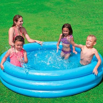 Intex Crystal Blue Pool - Kinder Aufstellpool - Planschbecken - Ø 168 cm x 38 cm - Für 2+ Jahre - 5