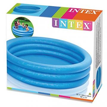 Intex Crystal Blue Pool - Kinder Aufstellpool - Planschbecken - Ø 168 cm x 38 cm - Für 2+ Jahre - 8