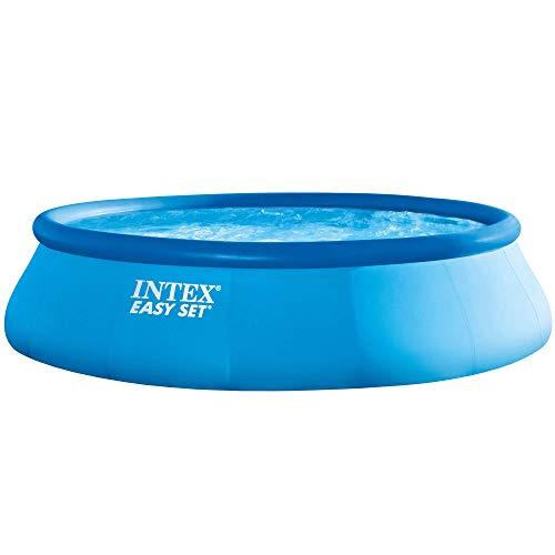 Intex Easy Set Aufstellpool, blau, Ø 457 x 122 cm - 1