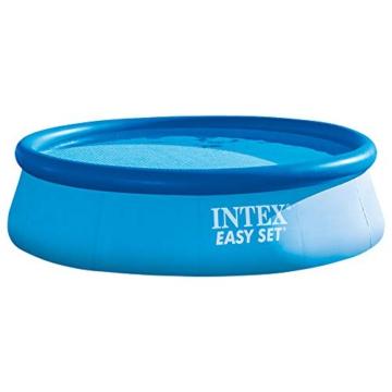 Intex Easy Set Pool - Aufstellpool, 366cm x 366cm x 76cm - 1
