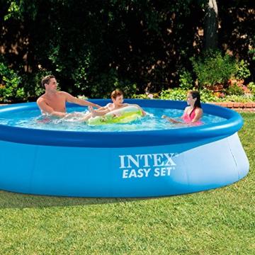 Intex Easy Set Pool - Aufstellpool, 366cm x 366cm x 76cm - 2