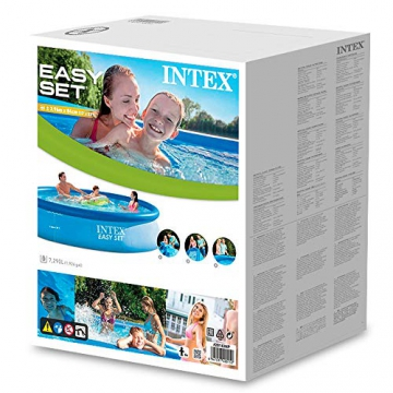 Intex Easy Set Pool - Aufstellpool, 396cm x 84cm x 74cm - 3