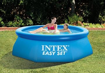 Intex Easy Set Pool - Aufstellpool - Ø 244 x 76 cm - Mit Filteranlage - 3